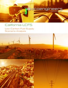 EcoEngineers California LCFS Report cover